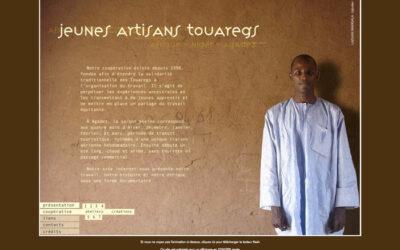 Jeunes artisans Touaregs
