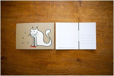 Carte postale – Minet vernis