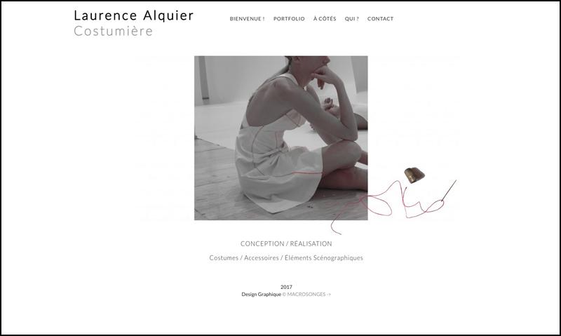 Laurence Alquier - costumière site 01