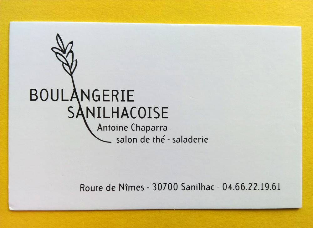 Boulangerie Sanilhacoise