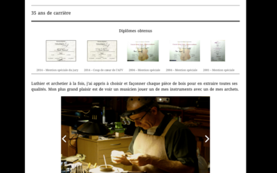 Pascal Camurat Luthier