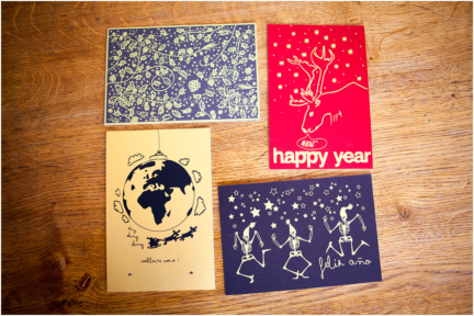 Les happy cards