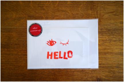 Hello ;) carte postale